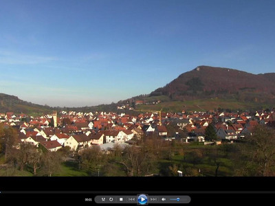 Panorama-Webcam in Betrieb